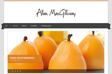 Auckland Photographer Allan MacGIllivray new website